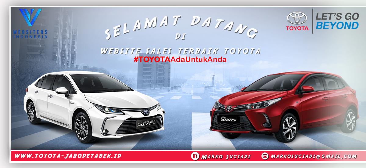 Slider Toyota Jabodetabek By Websiters Indonesia